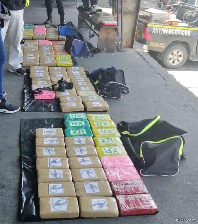 Detectan 489 paquetes de cocaína en Santo Tomás de Castilla con apoyo de Colombia - La Hora