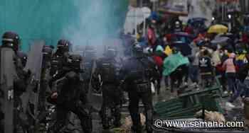 Paro nacional: denuncian exceso de fuerza por parte del Esmad en Gachancipá, Cundinamarca - Semana