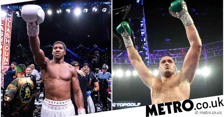 Eddie Hearn hints Anthony Joshua vs Tyson Fury announcement will be made next week