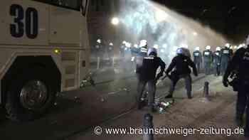 Freudenfeiern und Krawalle in Belgien nach Lockdown-Lockerung