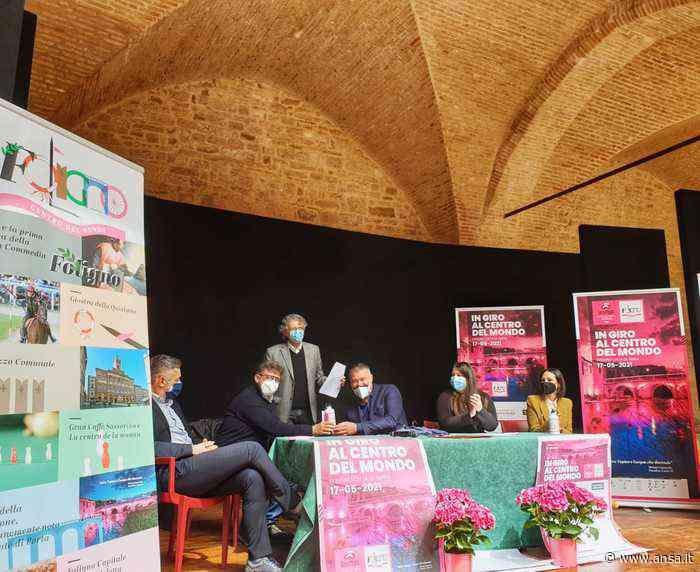 La tappa a Foligno del Giro d'Italia e le iniziative collaterali - Agenzia ANSA