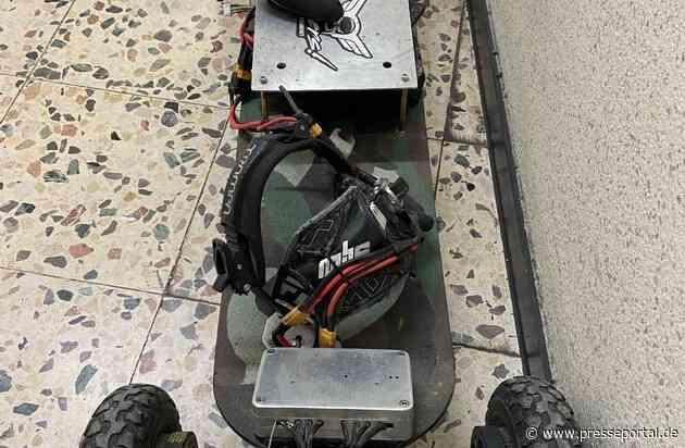 POL-DO: Stylisch, aber zu schnell: Fahrer eines Elektro-Skateboards muss seinen Führerschein abgeben
