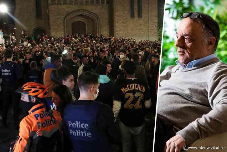 """Marc Van Ranst vol onbegrip over incident in Brussel: """"Pure straffeloosheid"""""""