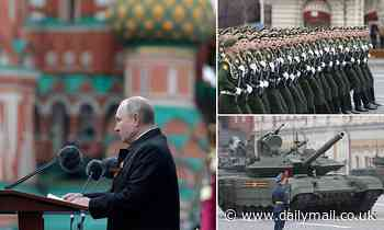 Putin denounces return of 'Russophobia' during Victory Day parade