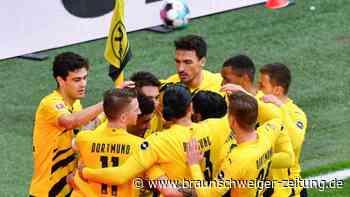 """Sieg gegen Leipzig: BVB schöpft Mut fürs Pokalfinale - """"Schweißt zusammen"""""""