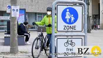 Grünes Licht für Radfahrer in Wolfsburgs Fußgängerzone