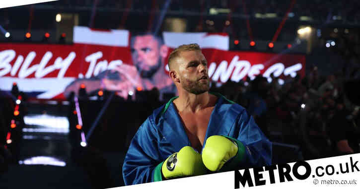 Billy Joe Saunders will be out for a 'long, long time' following Canelo defeat and eye injury, says Eddie Hearn