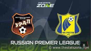 2020-21 Russian Premier League – Ural vs Rostov Preview & Prediction - The Stats Zone