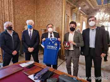Rugby - Il Presidente Marzio Innocenti ha incontrato il Sindaco di Palermo Leoluca Orlando - OnRugby