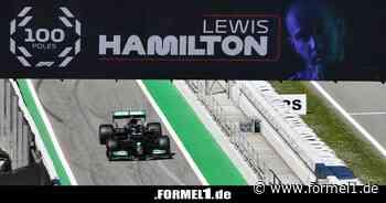 """100. Poleposition für Lewis Hamilton: """"Kann das gar nicht verarbeiten"""""""