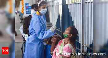 Coronavirus in India live updates: India's daily positivity rate at 21.64% - Times of India