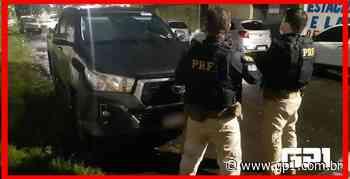 PRF recupera carro usado em assalto na cidade de Piripiri - GP1