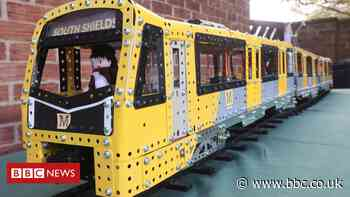 Tyne and Wear Meccano Metro model was a 'labour of love'
