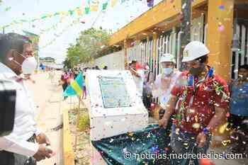 Municipalidad de Tambopata inaugura dos obras de pavimentación en AA. HH. Señor de los Milagros - Radio Madre de Dios