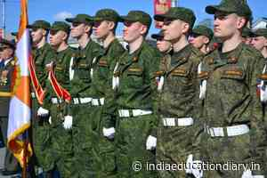 Students of the Military Training Center of Petrozavodsk State University will take part in festive events dedicated to Victory Day - India Education Diary