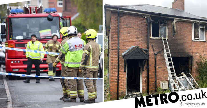 House fire kills woman and leaves girl, 16, seriously injured