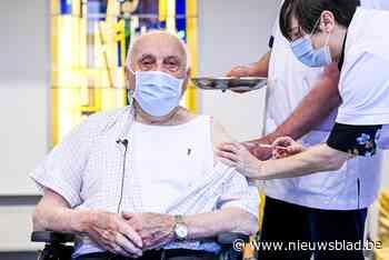 Jos Hermans (97), de eerste gevaccineerde Belg, is overleden
