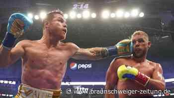 Rekordkulisse: Boxchampion Alvarez holt sich dritten WM-Gürtel