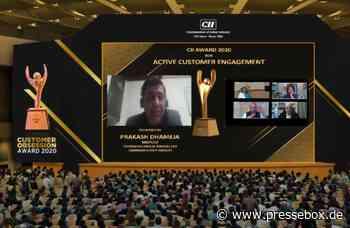 Gerresheimer Triveni erhält Auszeichnung für aktives Kundenmanagement vom indischen Branchenverband CII - PresseBox.de