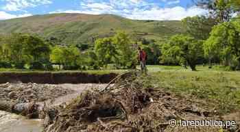 Cajamarca: lluvias afectan viviendas y cultivos en Chota - LaRepública.pe