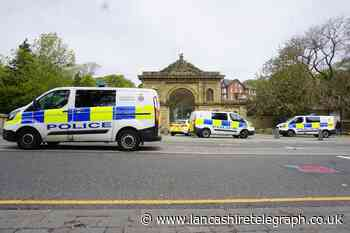 Police at scene of incident in Corporation Park