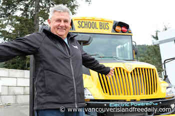 West Shore proud owners of B.C.'s first electric school bus - vancouverislandfreedaily.com
