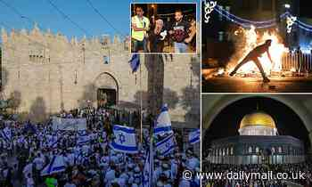 Jerusalem Day parade WILL go ahead despite days of unrest and soaring tensions in city