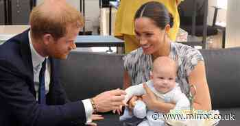 Meghan and Harry 'went extra mile' for Archie's birthday before new baby arrives
