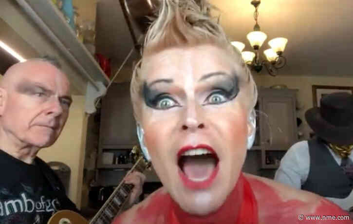 Robert Fripp and Toyah Willcox share cover of The Prodigy's 'Firestarter'