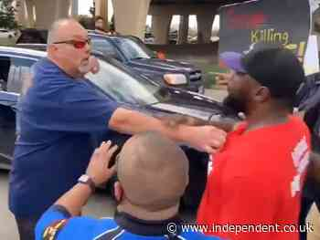 'Get the f*** out of my way': Footage of Texas motorist threatening BLM protesters goes viral
