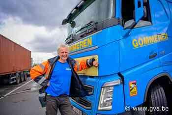 """Boud Gommeren werkt al 30 jaar als truckchauffeur in de haven: """"Terminals houden met ons geen rekening"""" - Gazet van Antwerpen"""