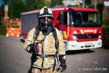 Bestelwagen vat vuur in Teuven - Het Belang van Limburg