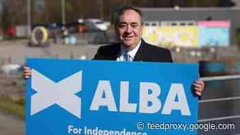 Alex Salmond fails in his bid to return to Scottish Parliament