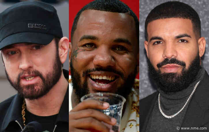 The Game names Eminem and Drake among his Top 10 rappers alive