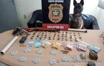 Operação conjunta da polícia apreende grande quantidade de drogas em Abelardo Luz - Oeste Mais