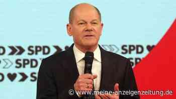 """""""Maaßen und Masken-Schmu"""": Scholz wettert bei SPD-Parteitag gegen Union - und verspricht blühendes Deutschland"""
