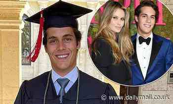 Elle Macpherson celebrates son Flynn's virtual graduation one year later