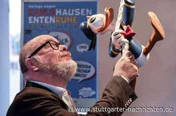 Donald-Duck-Sammler bestückt Ausstellung in Leinfelden-Echterdingen - Schnäbel aus Entenhausen und der Welt - Stuttgarter Nachrichten