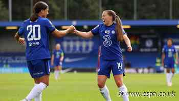 Chelsea thrash Reading 5-0 to seal WSL title