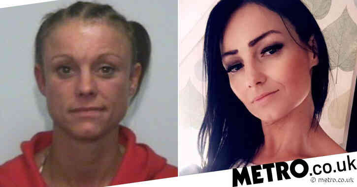 Model scarred for life after friend stabbed her in the face with screwdriver