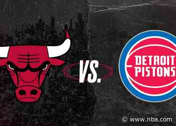 Keys to the Game: Bulls at Pistons (05.09.21)