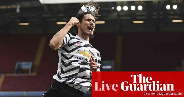 Aston Villa 1-3 Manchester United: Premier League – as it happened