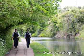 Body of newborn baby found in canal in London