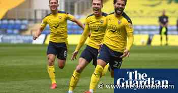 League One: Oxford steal into play-offs after Portsmouth slip up on final day