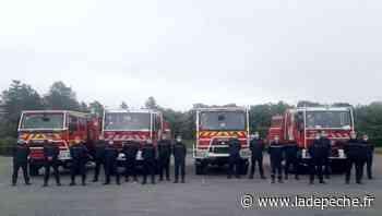 Le Montat. Les pompiers du Lot en formation feu de forêt - ladepeche.fr