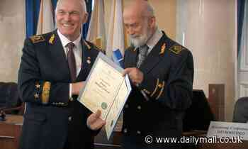 Prince Michael of Kent received honorary professorship from one of Vladimir Putin's cronies