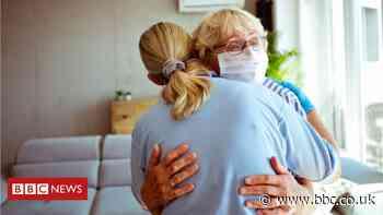 Coronavirus: Expert urges caution over hugs as lockdown eases - BBC News