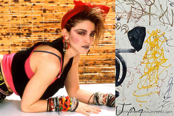 Inside the story of Keith Haring's fridge, at auction with Madonna's 'tag'