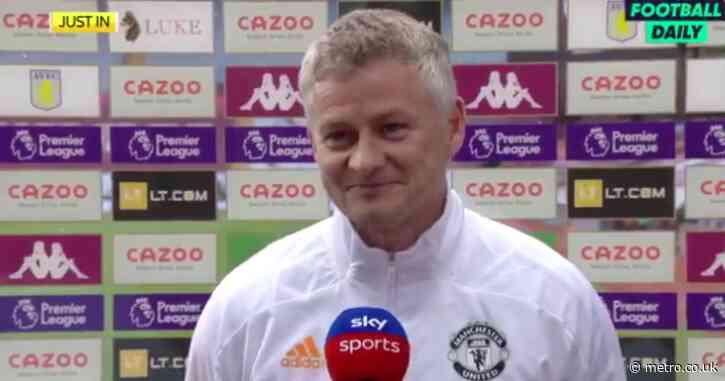 Ole Gunnar Solskjaer drops hint over Edinson Cavani's future at Manchester United