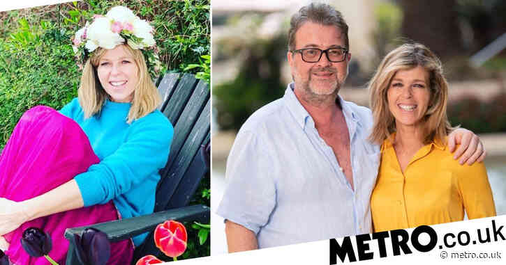 Kate Garraway shares photo from 'happy place' as she dreams of summer days with husband Derek Draper